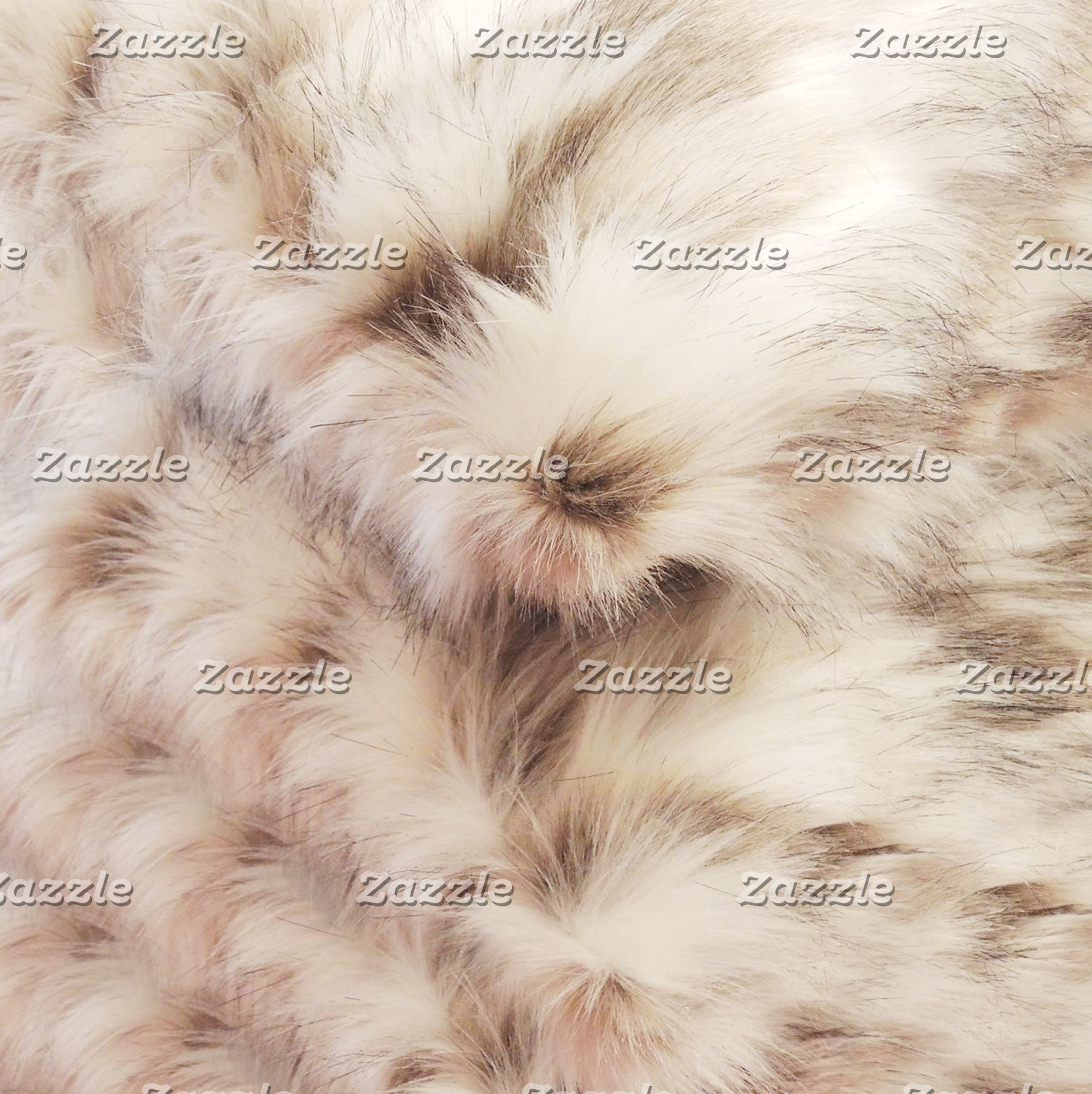 Leather Fur Print