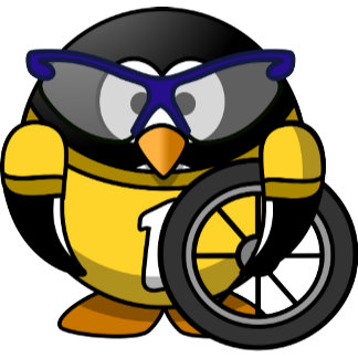 Cyclist Penguin
