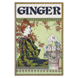 Ginger in vintage