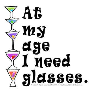 ap1 At My Age I Need GLASSES!