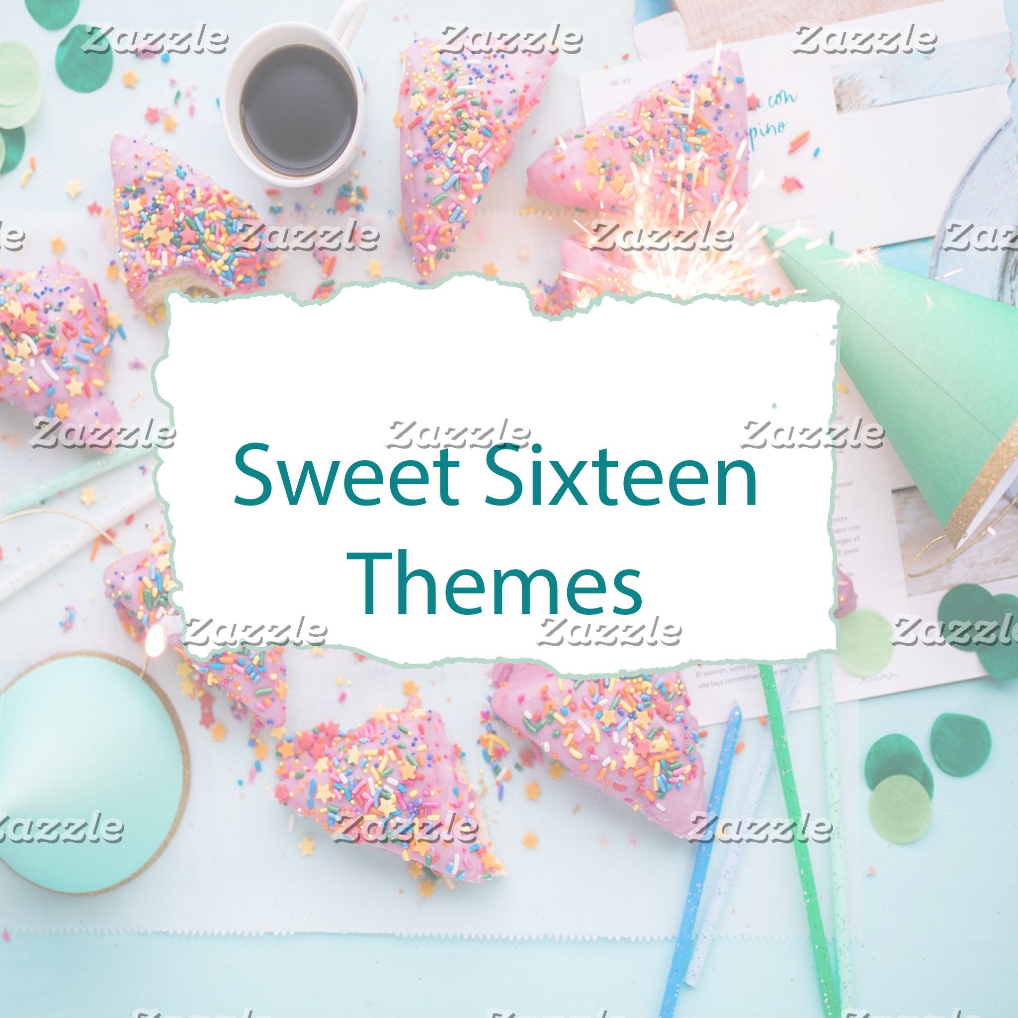 Sweet Sixteen Themes