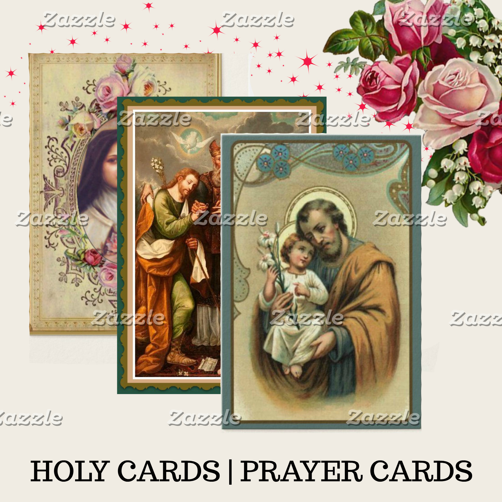 HOLY CARDS | PRAYER CARDS