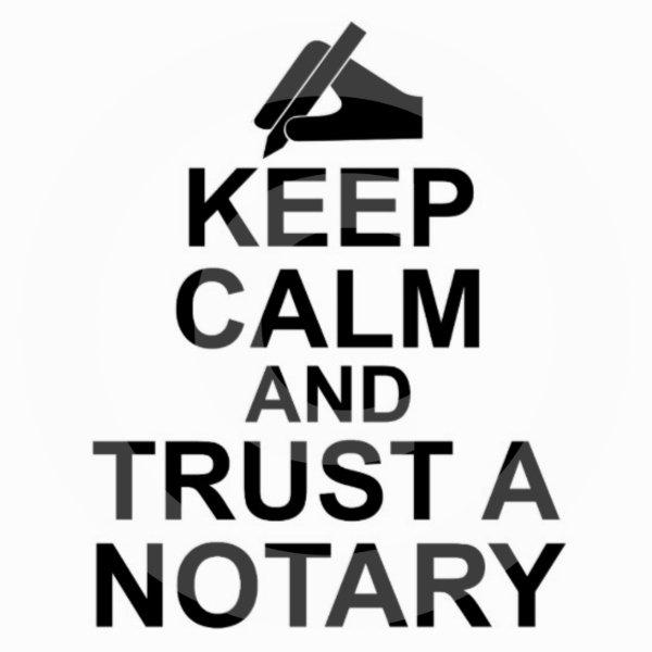 Keep Calm Notary