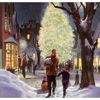 Dad Christmas Shopping