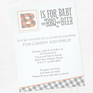 Baby, BBQ & Beer Baby Shower Suite