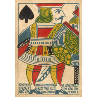 """Jack of Spades Card Poster Print"""