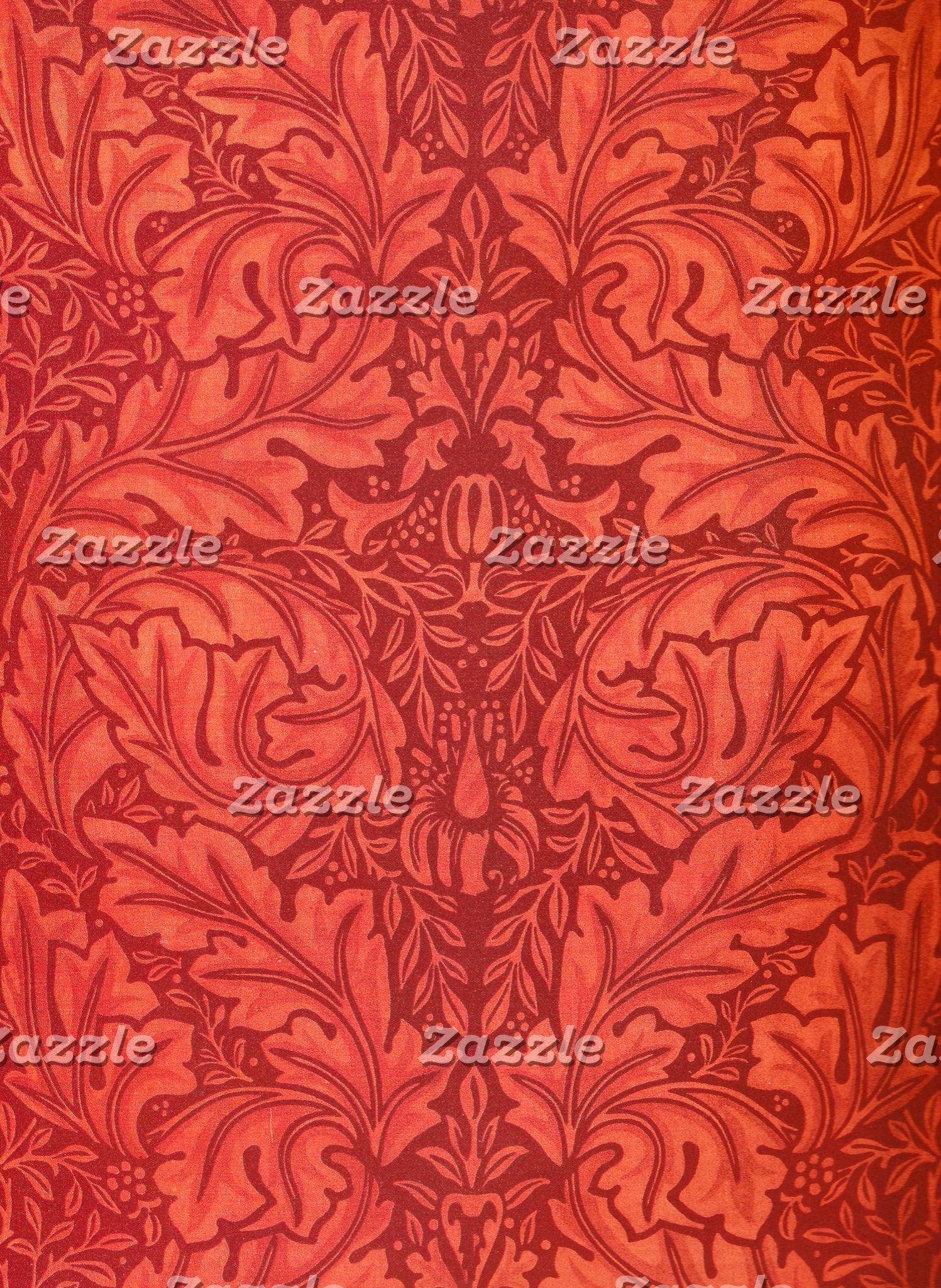 William Morris Acanthus for Velveteen