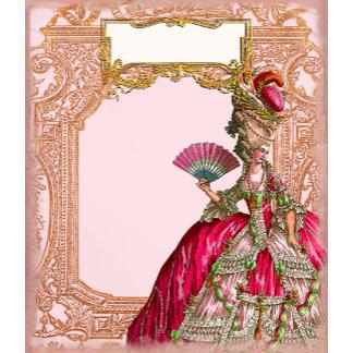 Marie Antoinette in Hot Pink