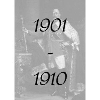 1901-1910 Edwardian Era