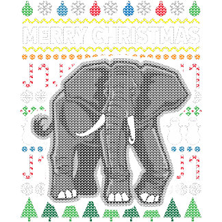Elephant Ugly Sweater