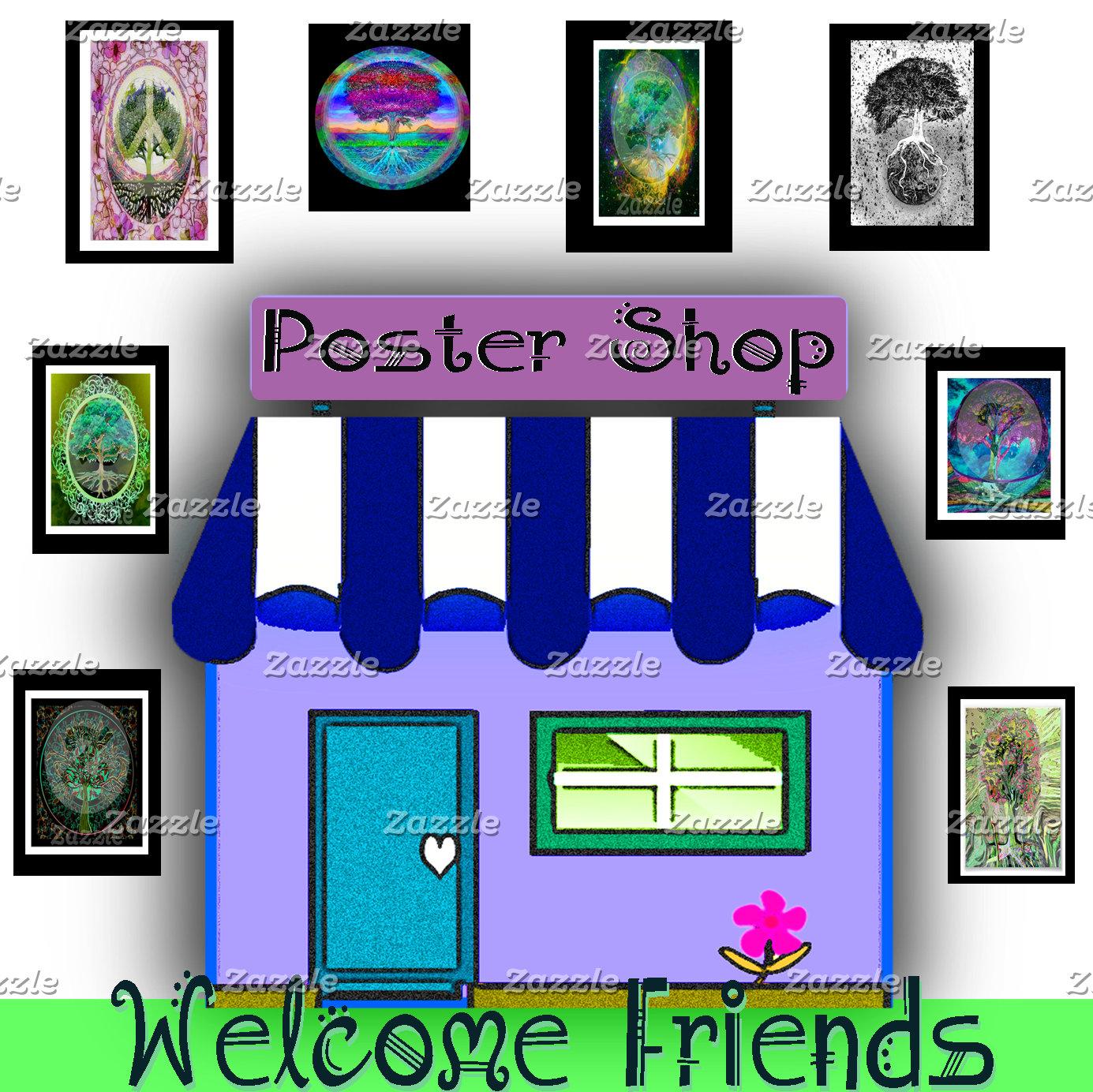 ♥ Poster Shop