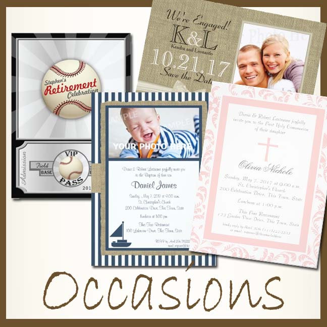 All Occasion Invitations
