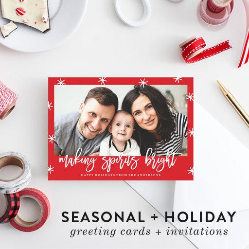 Seasonal + Holiday