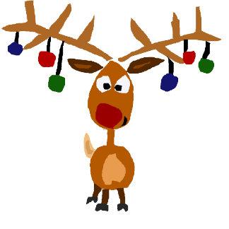 Funny Reindeer
