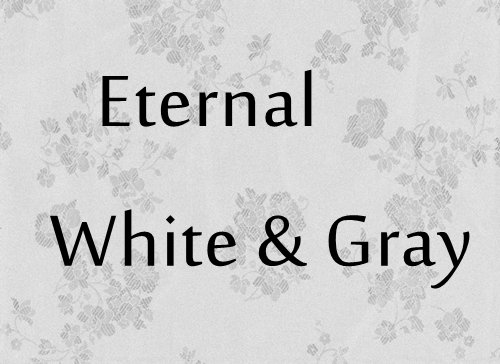 Eternal White and Gray Handfasting/Wedding
