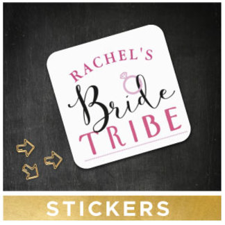 Bridal Shower Stickers