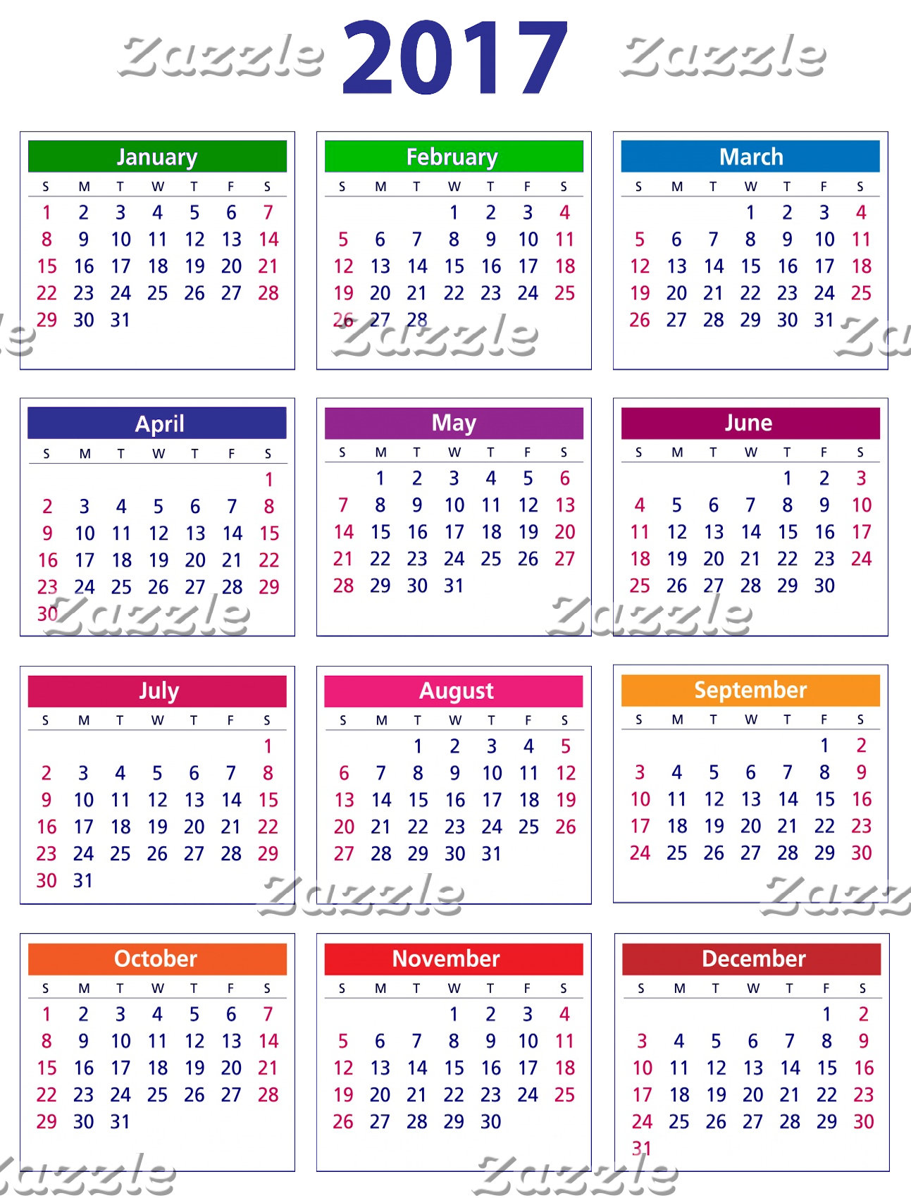 - Calendar