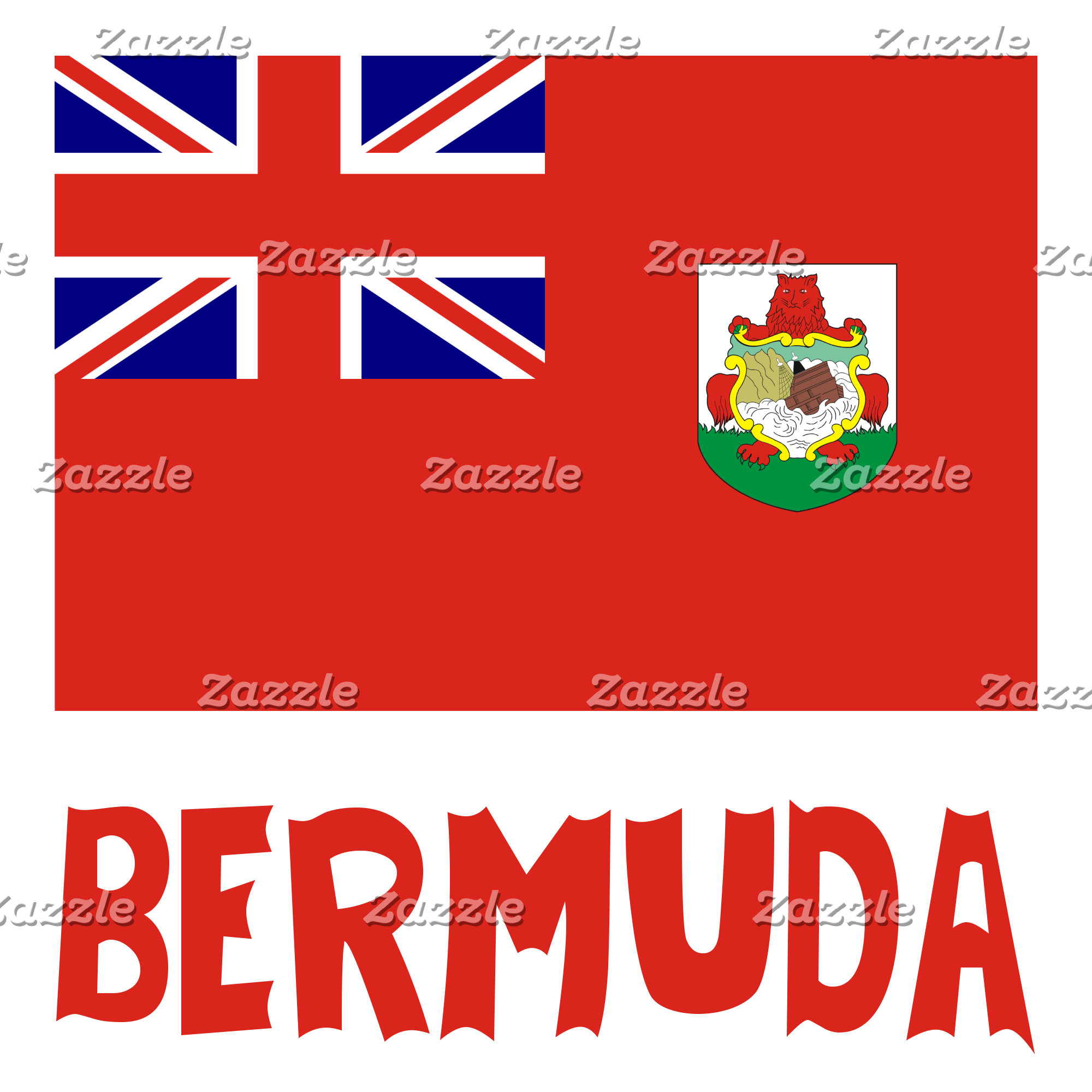 Bermudan Flag and Bermuda