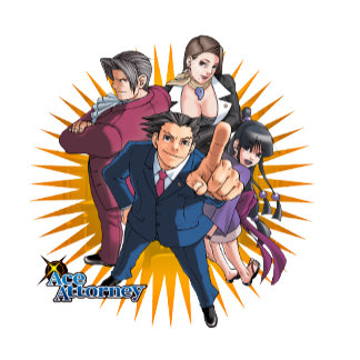 Phoenix Wright Key Art