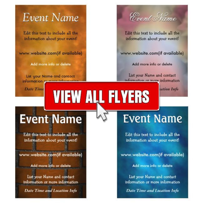 Abstract Flyers