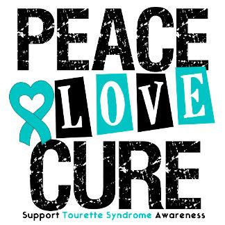 Peace Love Cure Tourette Syndrome