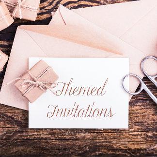 Themed Invitations