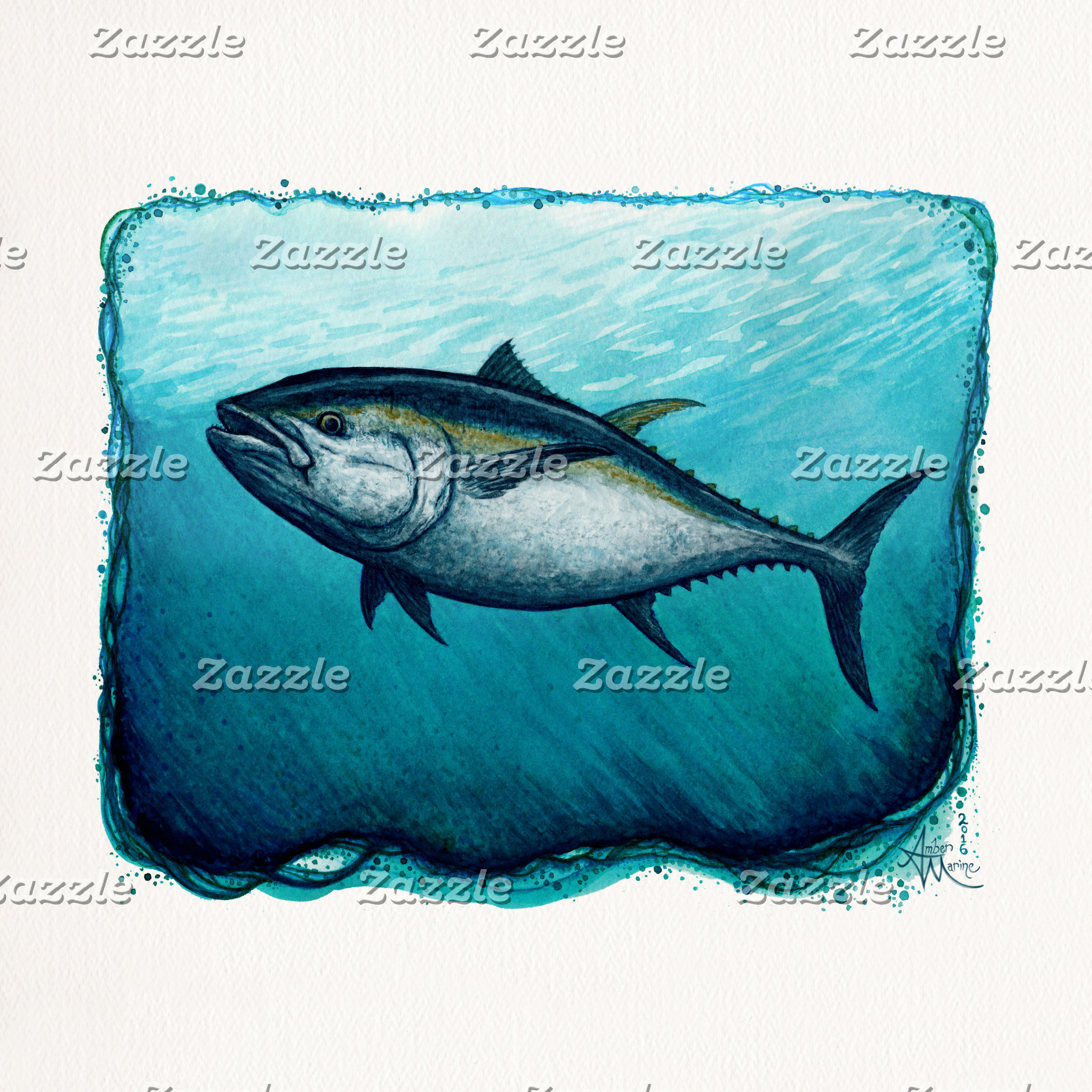 Art: Lone Bluefin