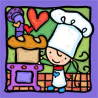 LittleGirlie Bakes Bread!