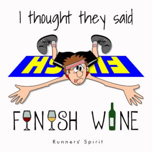 I Thought Finish WINE!