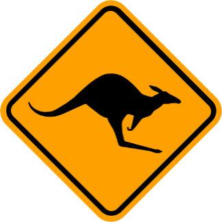 Sign: Kangaroos