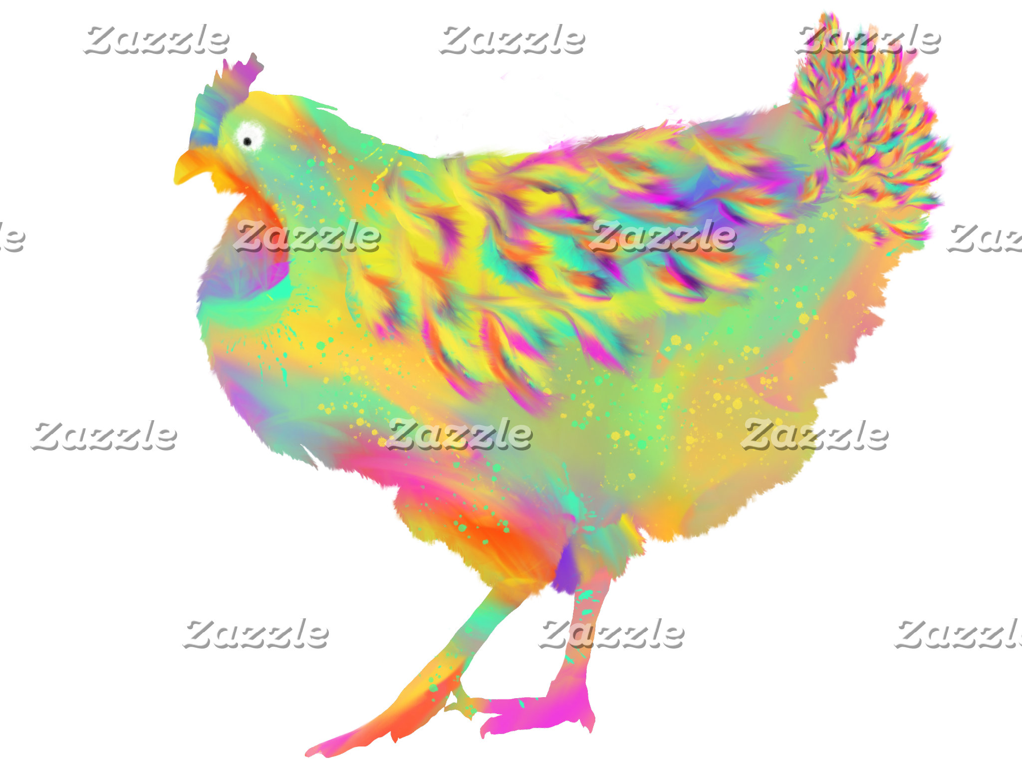 Quirky Chickens