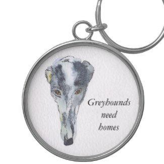 Greyhound key rings