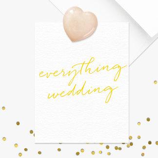 Everything Wedding