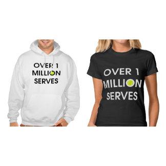 Over 1 Million Serves