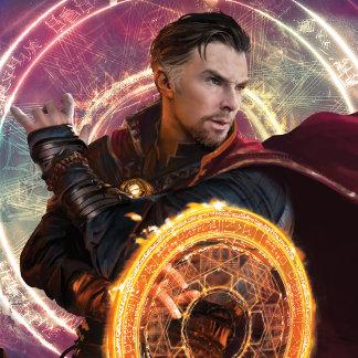 Doctor Strange Blocking With Mandala of Light