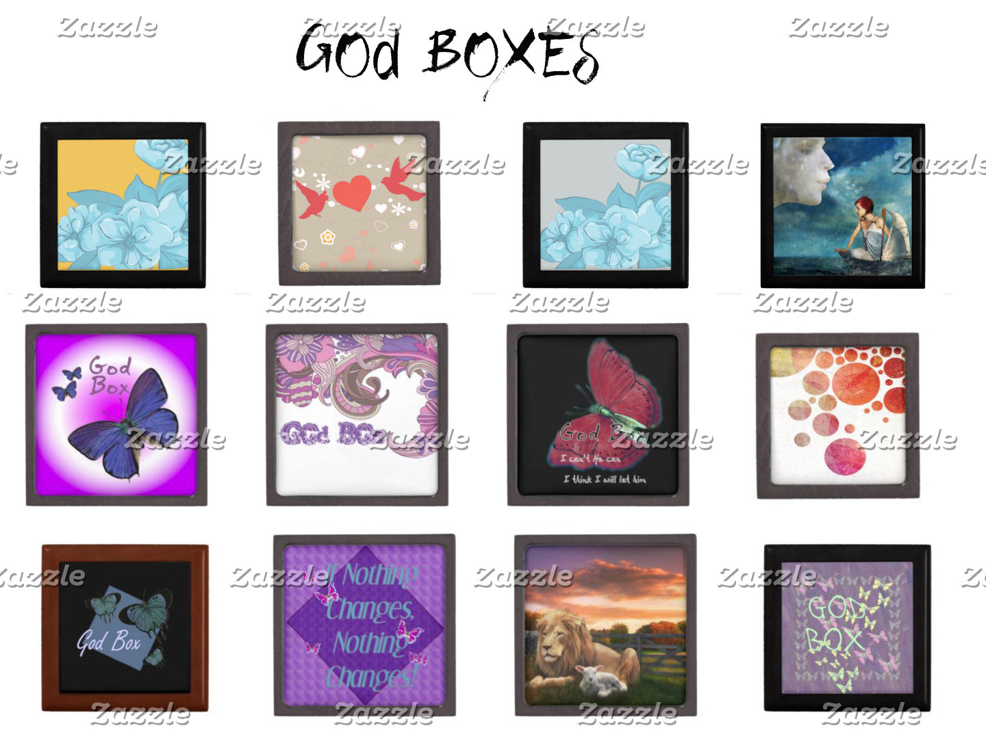 God Boxes, Wish Boxes and Special Gift Boxes