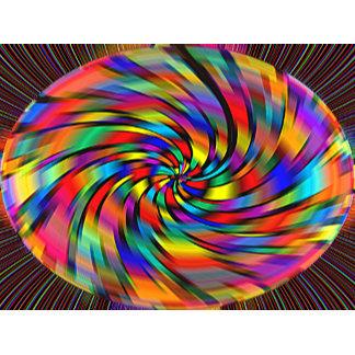 A Colorful Pinwheel