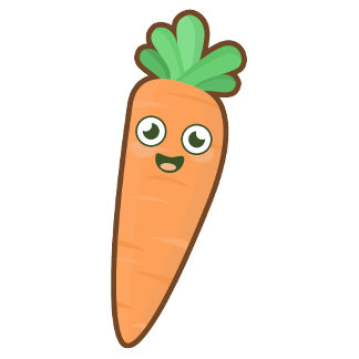 Kawaii Carrot