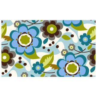 Mod Blue Floral