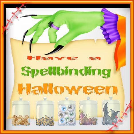 Spellbinding Halloween - Witch Hand