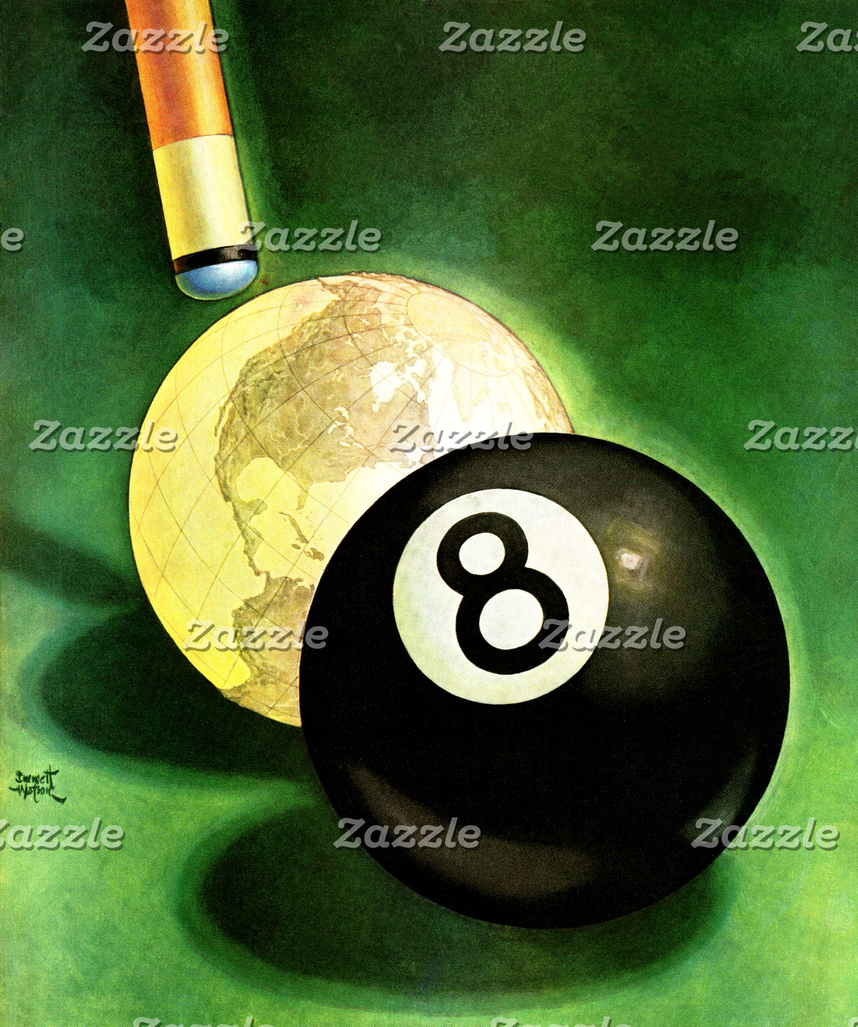World as Cue Ball