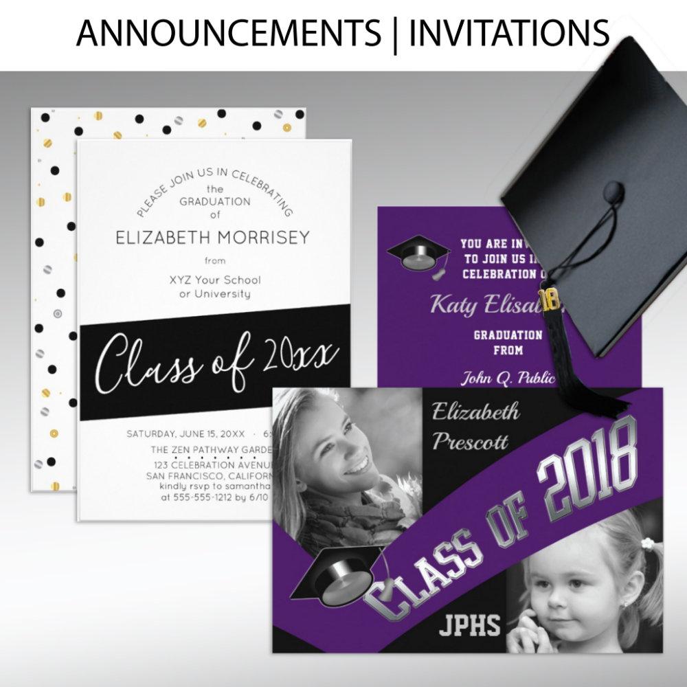 Announcements | Invitations