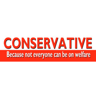 CONSERVATIVE - Bumper Stickers