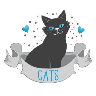 Black cat banner