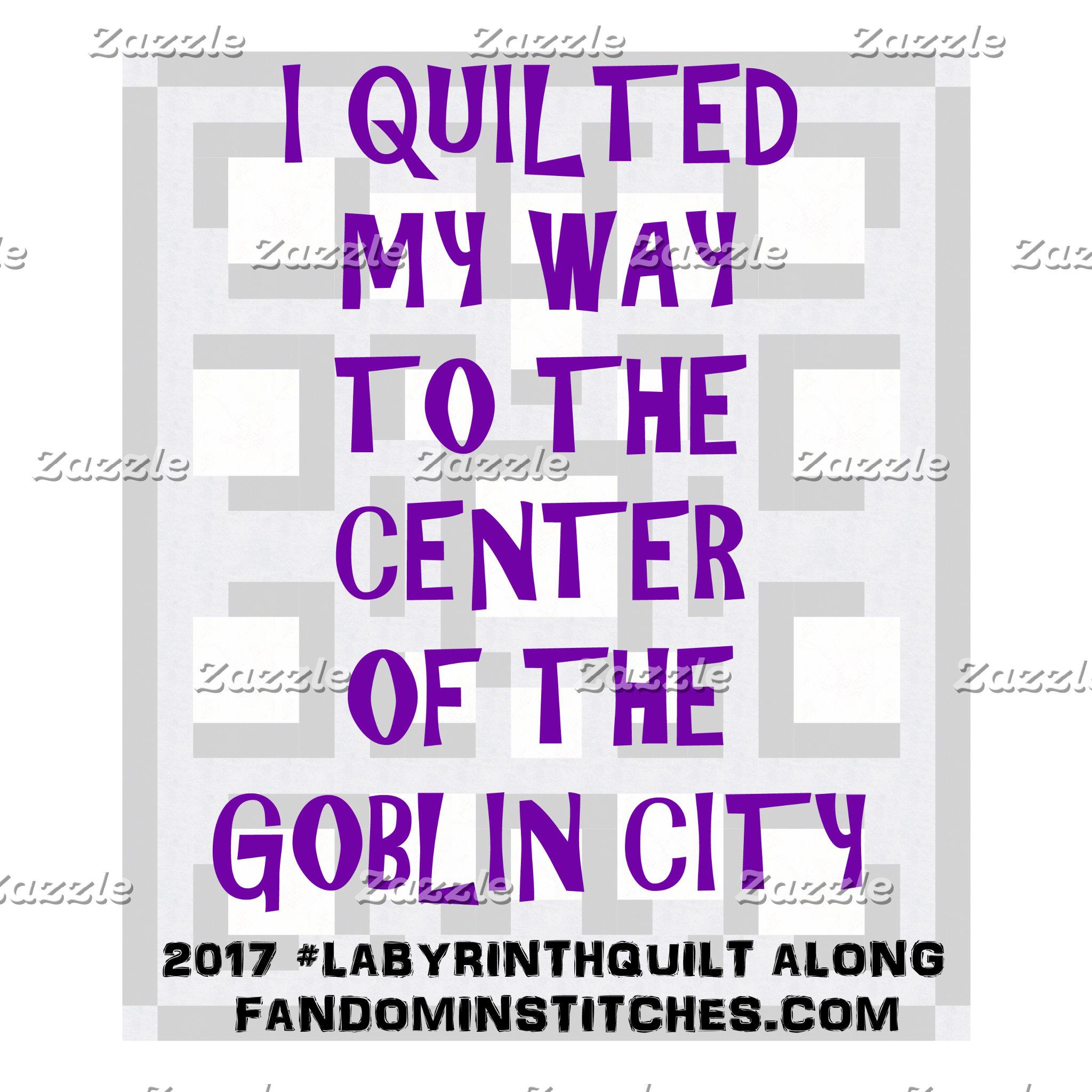 Goblin King Quilt & Stitch Along