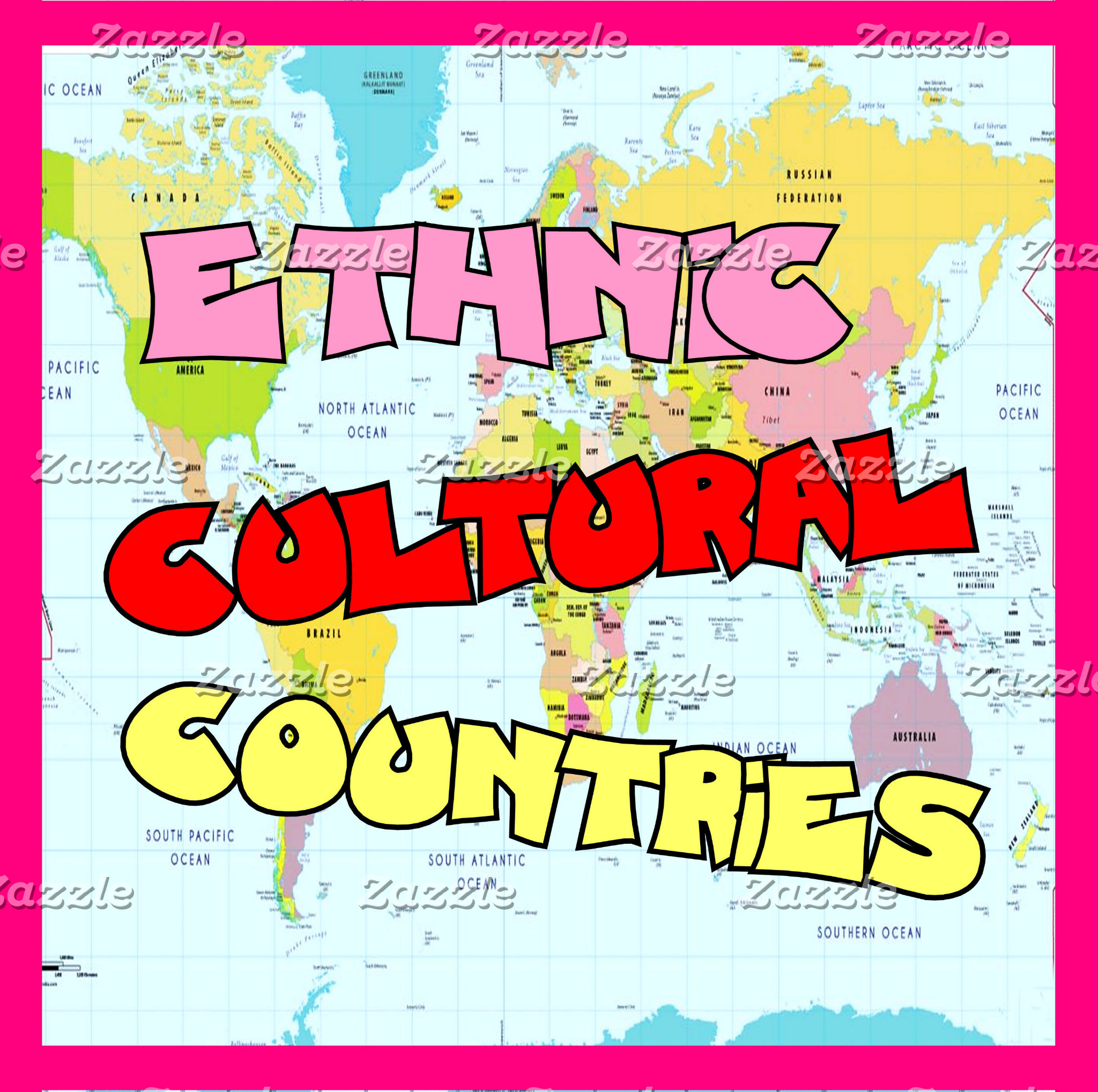 Ethnic, Cultural, COUNTRIES