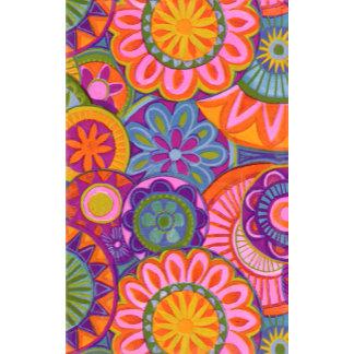 """Bright Flowers Pattern Poster Print"""