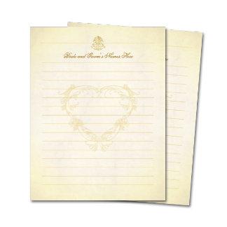 Vintage Parchment Paper