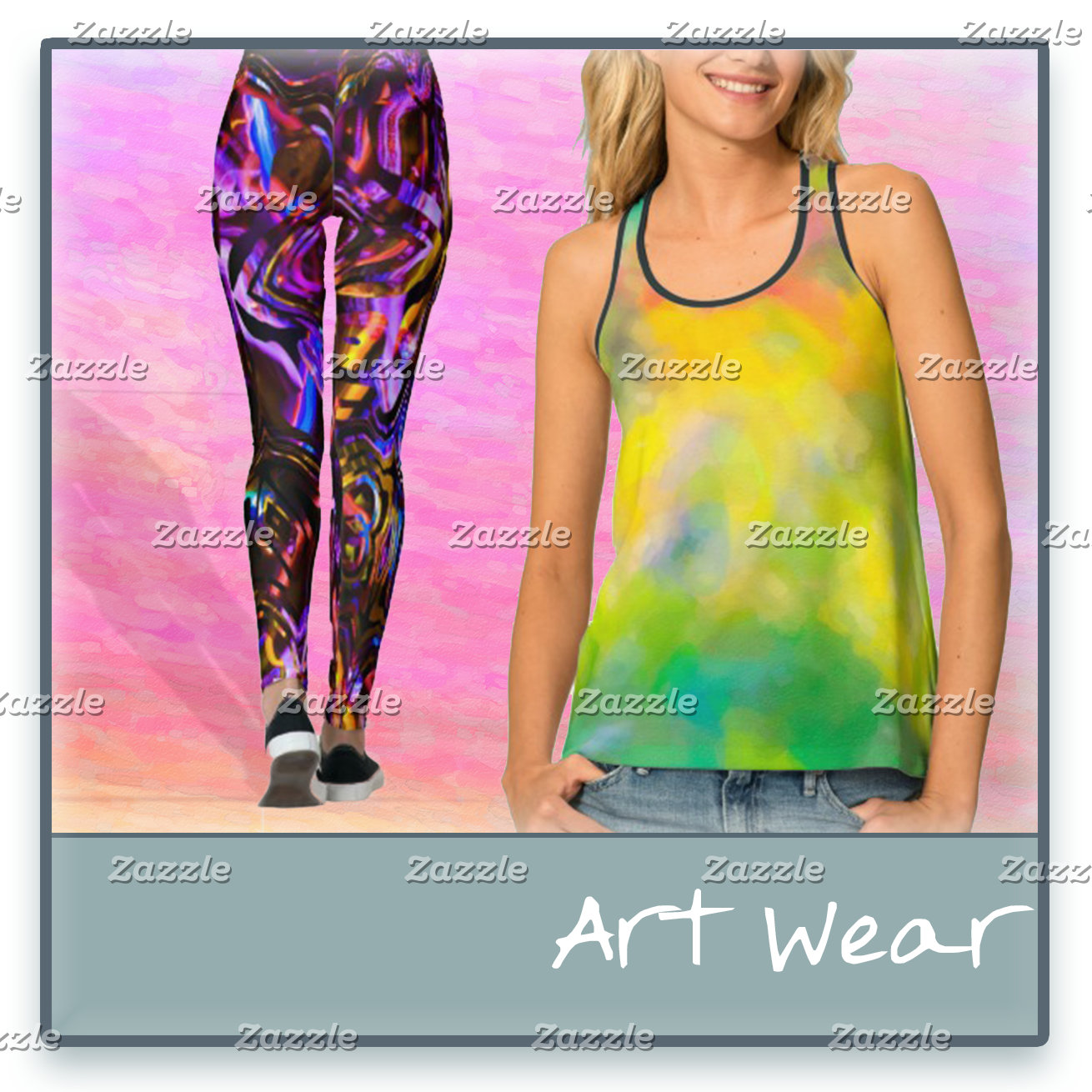 Abstract Art Wear