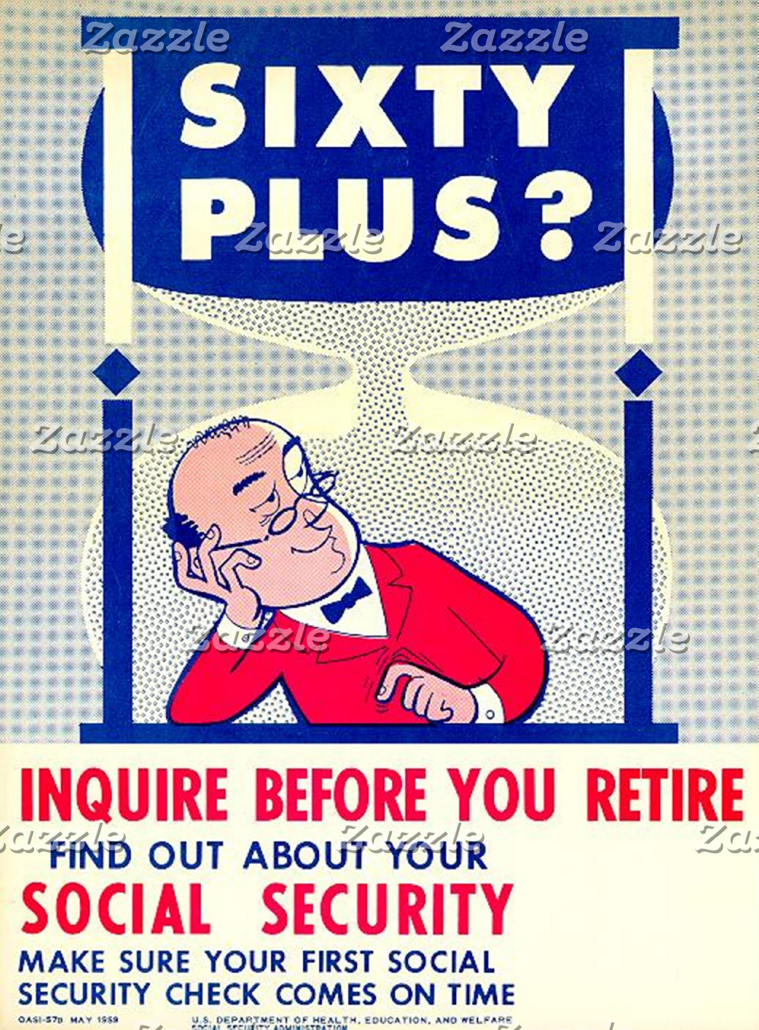 Social Security Vintage Reprint Posters